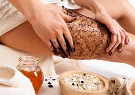 get rid of cellulite on thighs fast with coffee grounds for cellulite